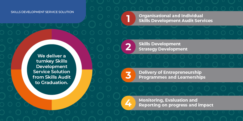 Solution infographic for skills development
